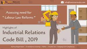 Legal Reasoning for CLAT, Passage- Labour Code on Industrial Relations Bill
